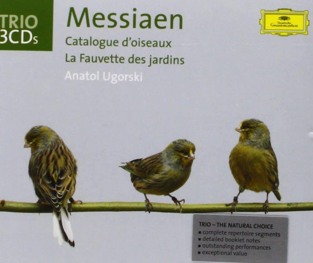 Grabacion de Catalogue d'oiseaux por Deustche Grammophon.