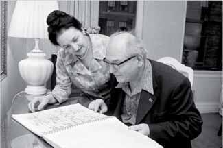 Yvonne Loriod y Olivier Messiaen. Fuente: John Sotomayor. The New York Times.