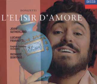 Grabación Decca con Luciano Pavarotti