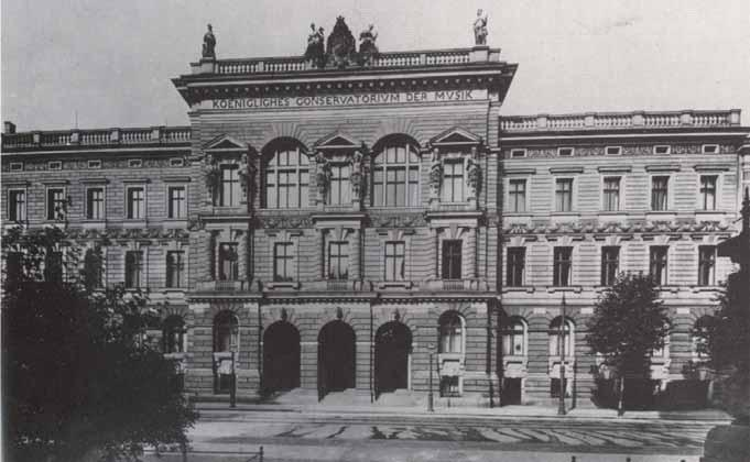 Conservatorio de Leipzig en 1910