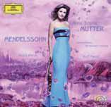 Mutter / Orquesta de la Gewandhaus de Leipzig / Masur (Deutsche Grammophon / 0028947780014)