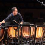 Javier Eguillor estrena el Concierto para timbales de Philip Glass en Alicante y Madrid
