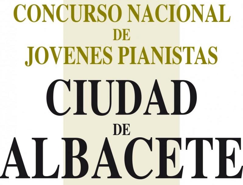 Concurso Nacional de Jóvenes Pianistas Ciudad de Albacete