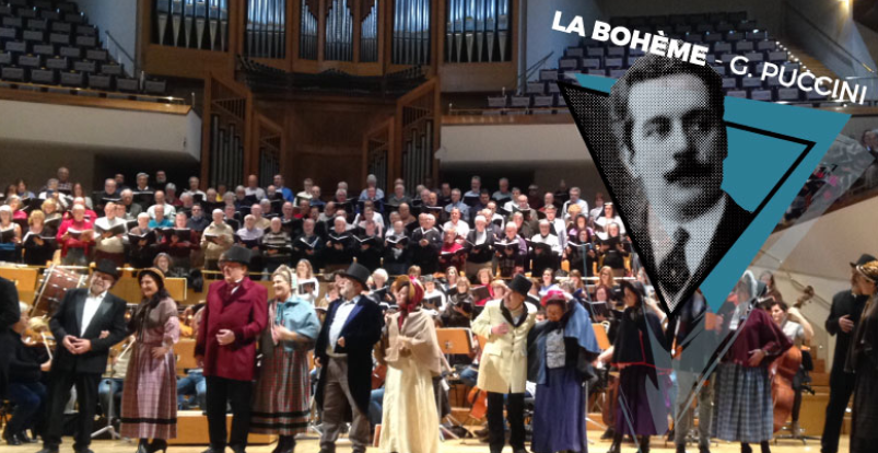 La Bohème en el Auditorio Nacional de la mano de Pascual Osa y Filarmonía de Madrid