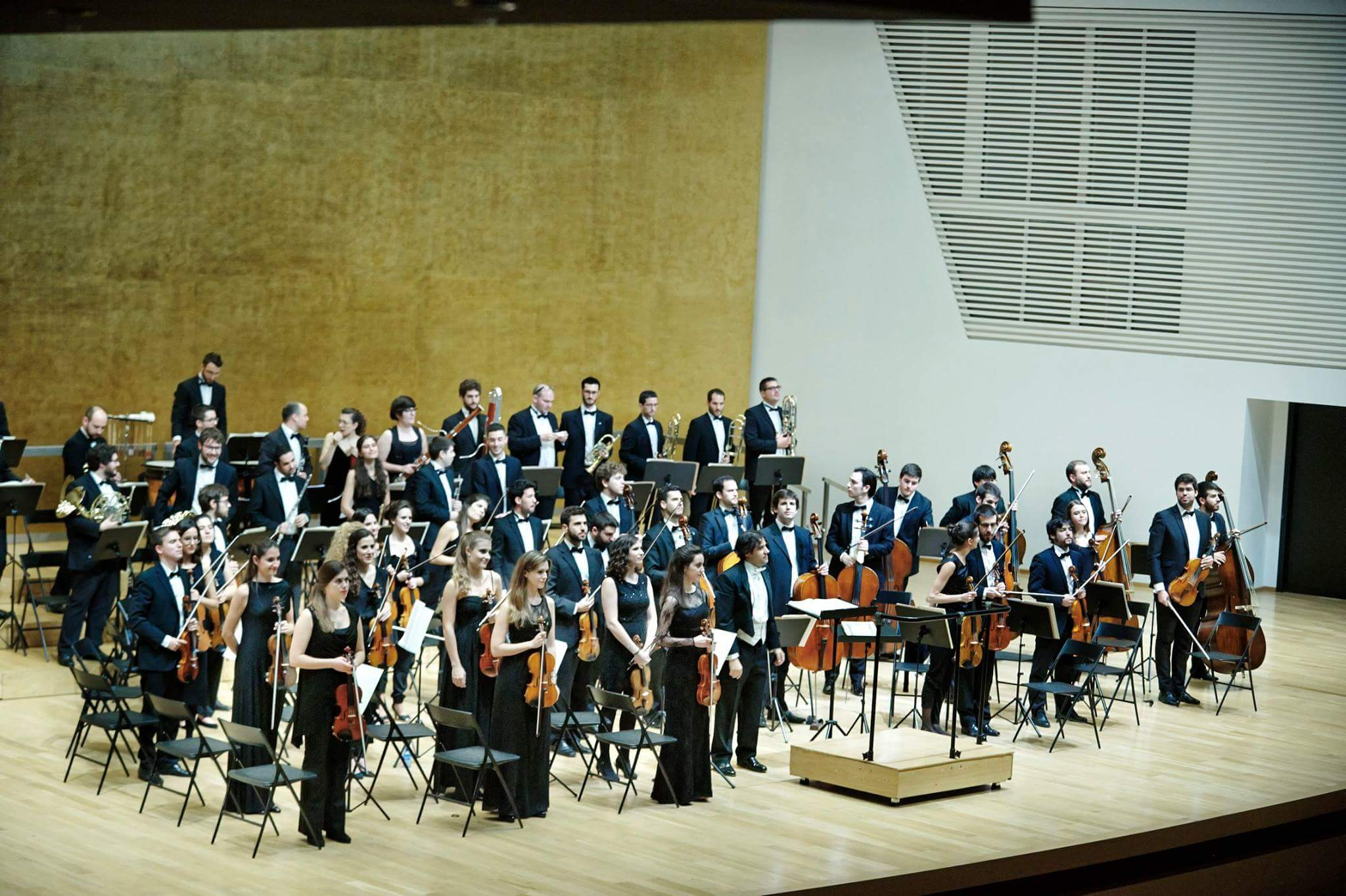 La Orquesta Sinfónica de Bankia se presenta en sociedad