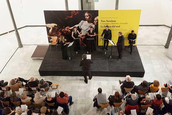 Tres asesinos: Caravaggio, Marlowe y Gesualdo. La belleza del mal.