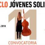 Convocatoria de participación en la XI Edición del Ciclo de Jóvenes Solistas