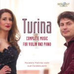 Reseña   Turina. Complete music for violin and piano