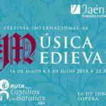 Nace el Festival Internacional de Música Medieval 'Castillos y Batallas' en Jaén