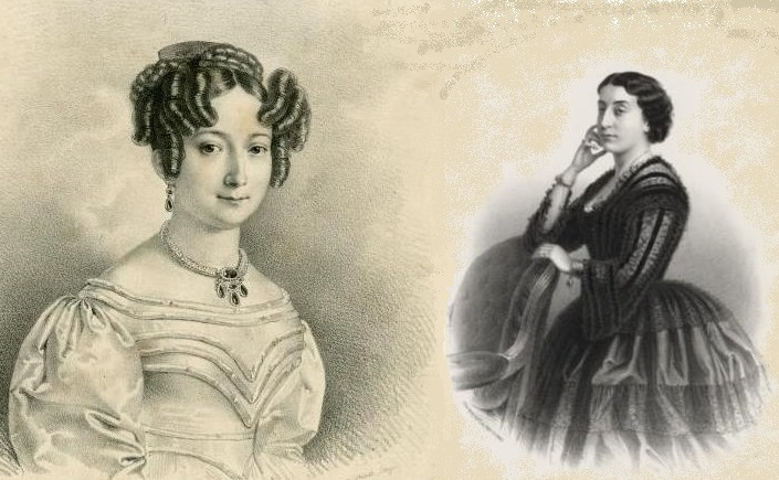 Las sopranos Henriette Méric-Lalande y ErminiaFrezzolin