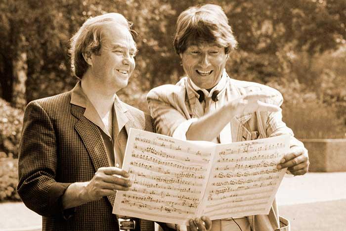 René Kollo y Udo Jürgens