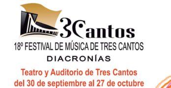 Sorteamos 10 entradas dobles para el Finde Danza y Cine (26 y 27 de octubre) del Festival de Música de Tres Cantos