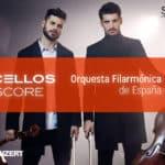2Cellos junto a la Orquesta Filarmónica de España en Mérida