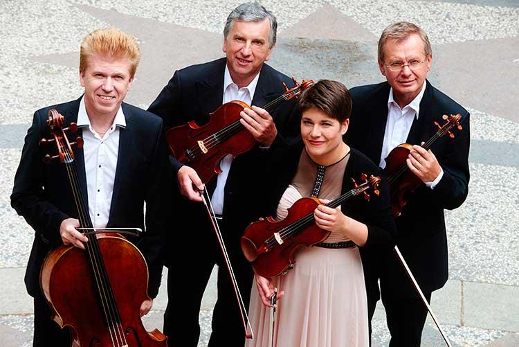 Cuarteto Pražák Ciclo de música actual