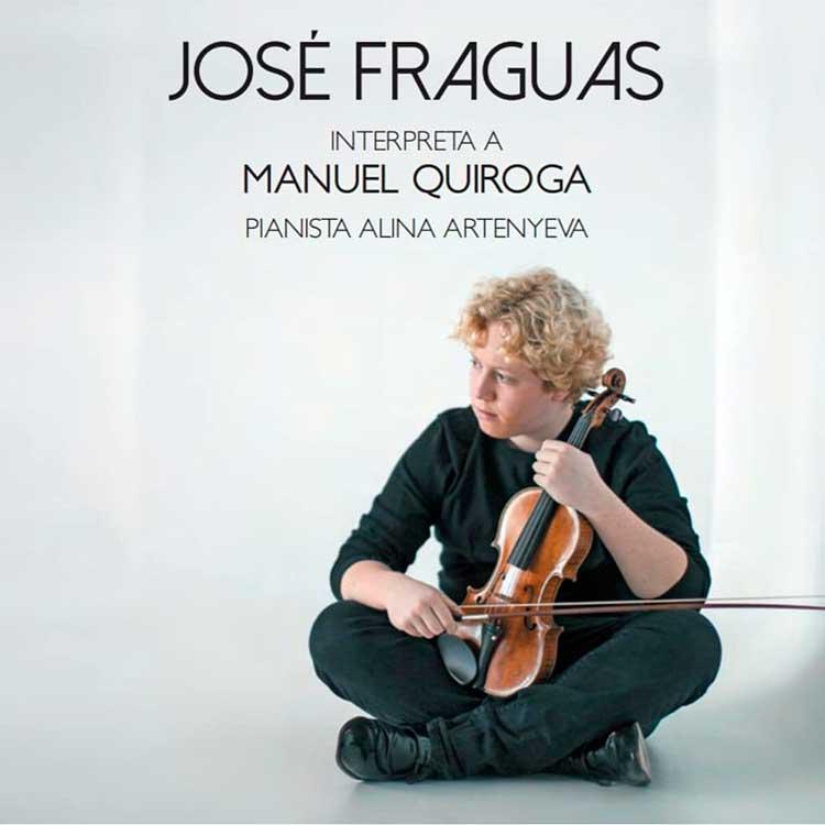 Reseña | José Fraguas interpreta a Manuel Quiroga