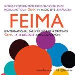 Este fin de semana se celebra la II edición de la Feria y Encuentros de Música Antigua (FEIMA)
