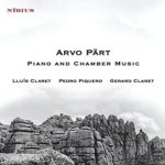 Reseña | Arvo Pärt. Piano and Chamber Music