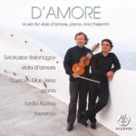 Reseña | D'AMORE: Music for viola d'amore, piano y theremin