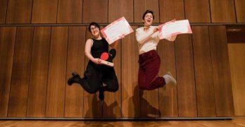 Ganadoras de la primera edición del Concurso de Música Antigua de Juventudes Musicales de España