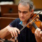 Los violines segundos, por David Mata
