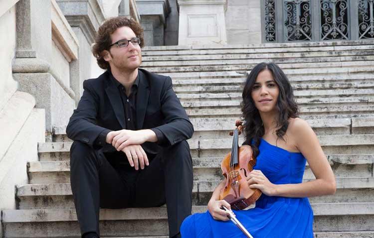 Ana María Valderrama y Luis del Valle