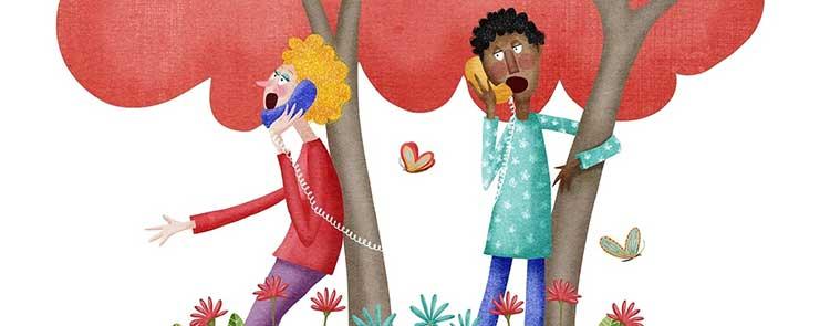 El teléfono, o el amor a tres