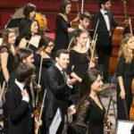 Dos Santos con la JOSB, concierto a la memoria del maestro Abreu