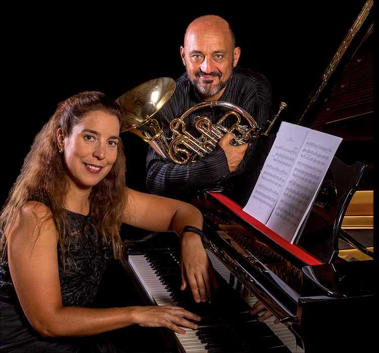 Javier Bonet y Miriam Gómez-Morán