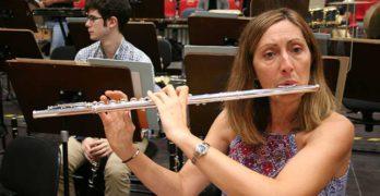 La flauta travesera, por Mónica Raga