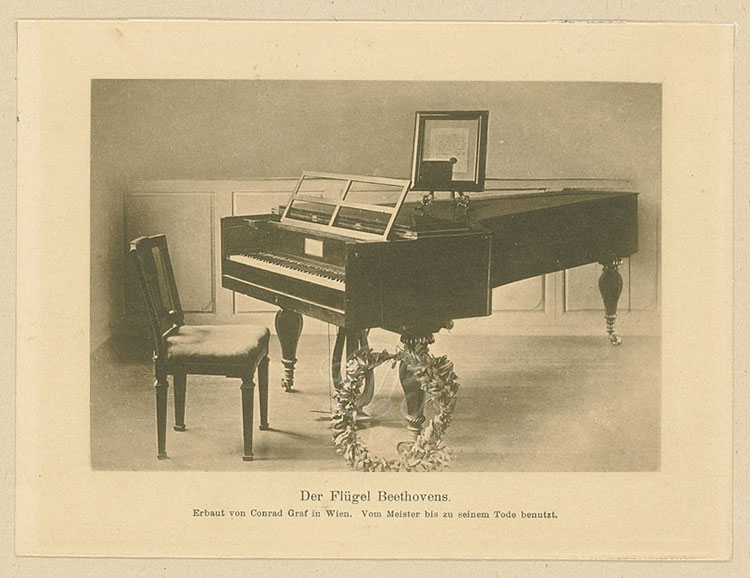 Fortepiano Conrad Graf de Beethoven.