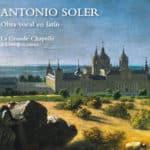 Reseña | Antonio Soler. Obra vocal en latín