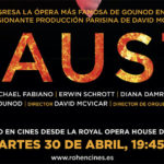Faust de Royal Opera House en directo en tu cine. Sorteamos 3 entradas dobles