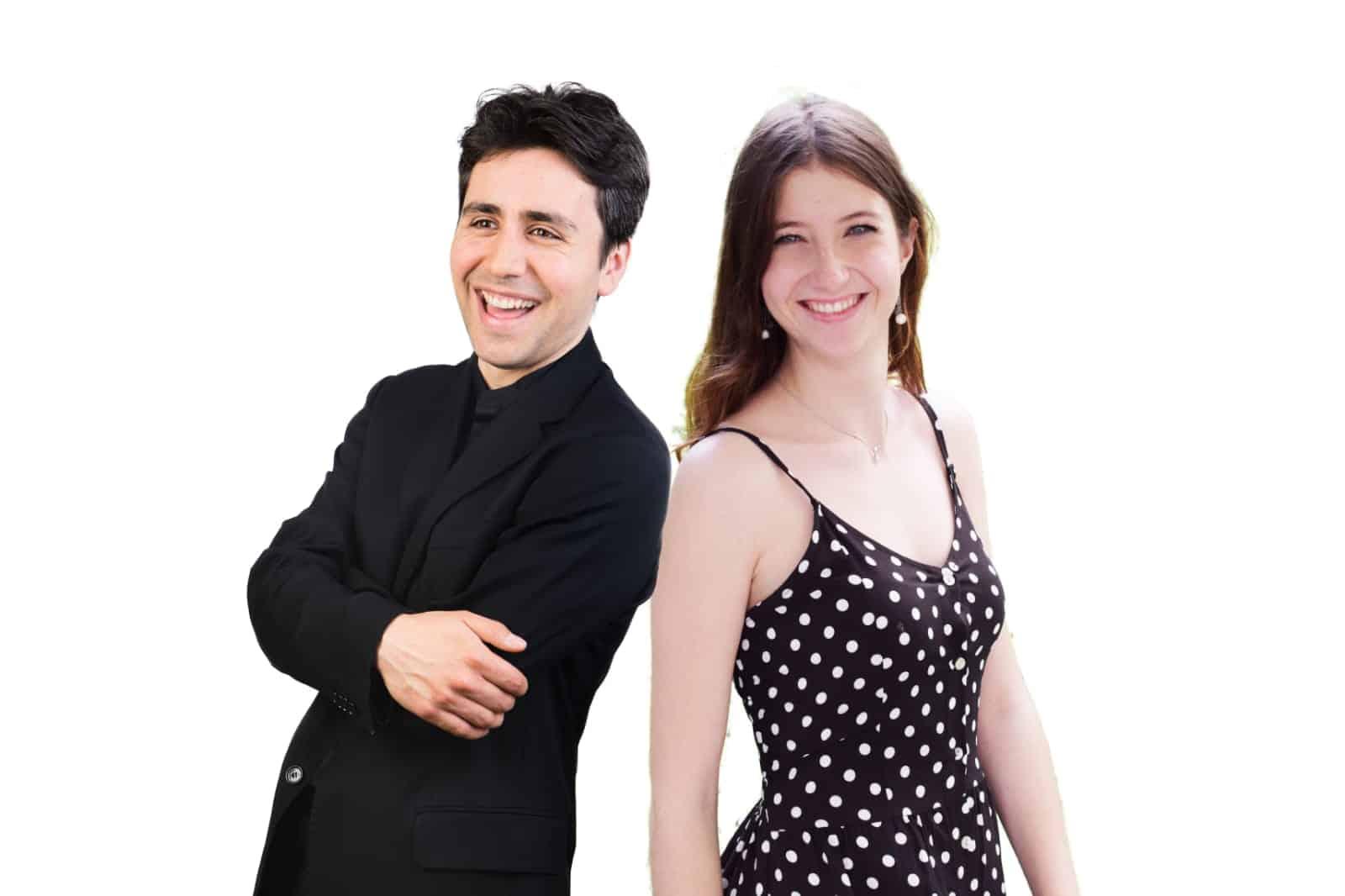 Raquel del Pino y Francisco Fierro
