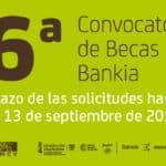 Bankia y la FSMCV convocan la sexta edición de becas para alumnos de escuelas de música