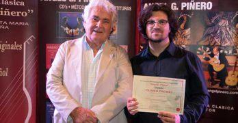 Luca Romanelli gana la VI edición del Concurso de Guitarra Ángel G. Piñero