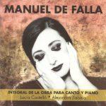 Reseña | Manuel de Falla. Integral de la obra para canto y piano