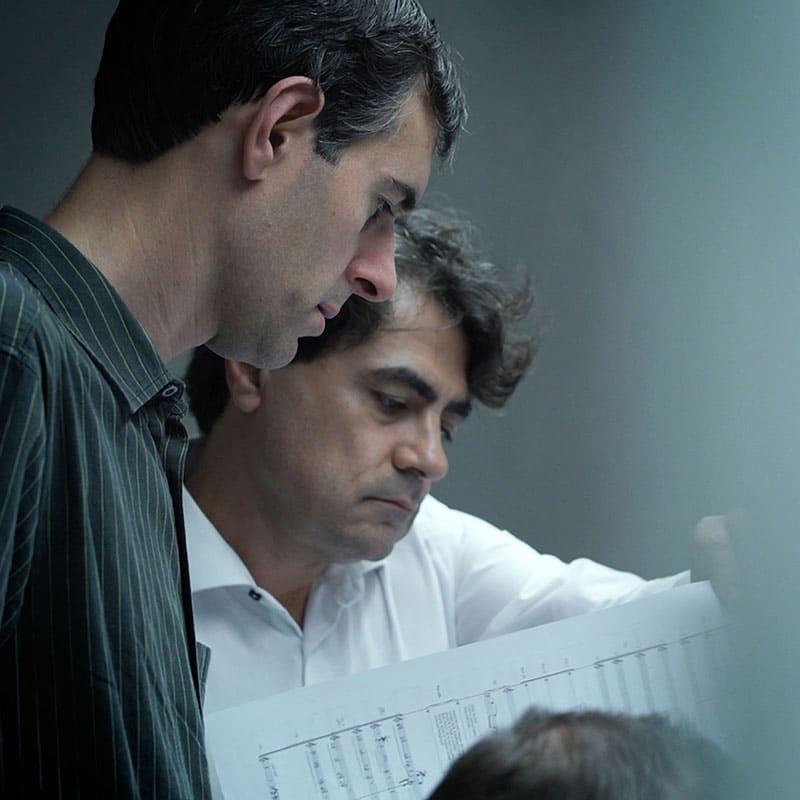 Eduardo Portal y Gustavo Díaz-Jerez