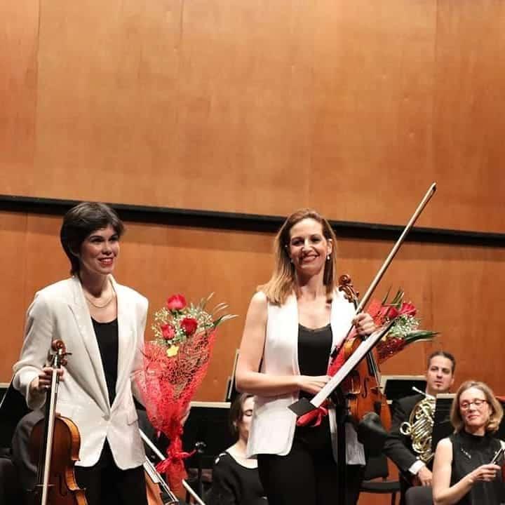 Isabel Villanueva y Laura Rodríguez
