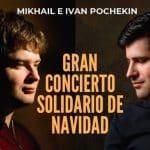 El Dúo Pochekin, Concierto de Navidad a beneficio de ACTAYS