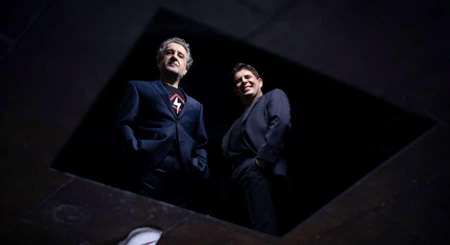 Javier Perianes y Josep Pons