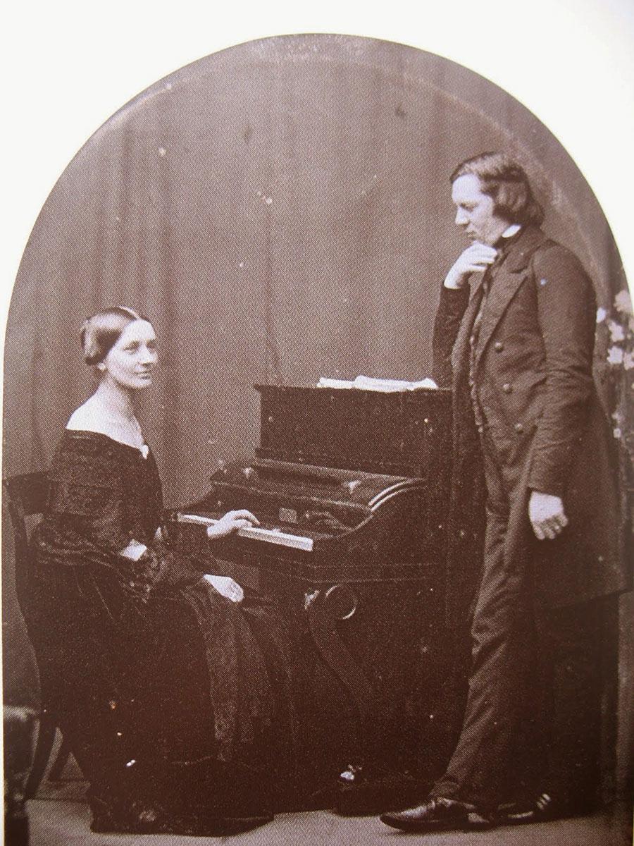 Clara y Robert Schumann