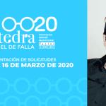 Abierta la convocatoria para nuevos alumnos en la Cátedra Manuel de Falla 2020