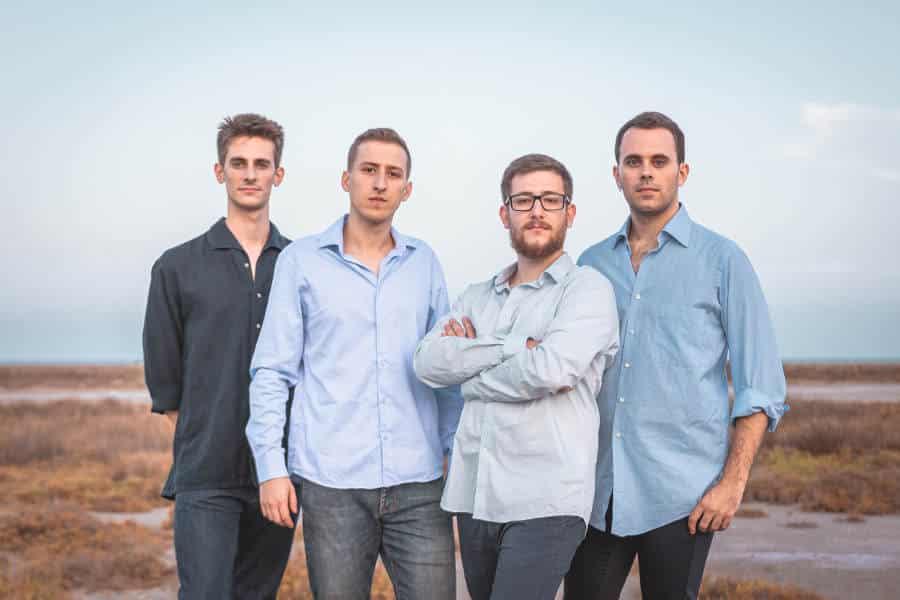 El cuarteto de saxos Kebyart Ensemble en el Auditorio de Zaragoza