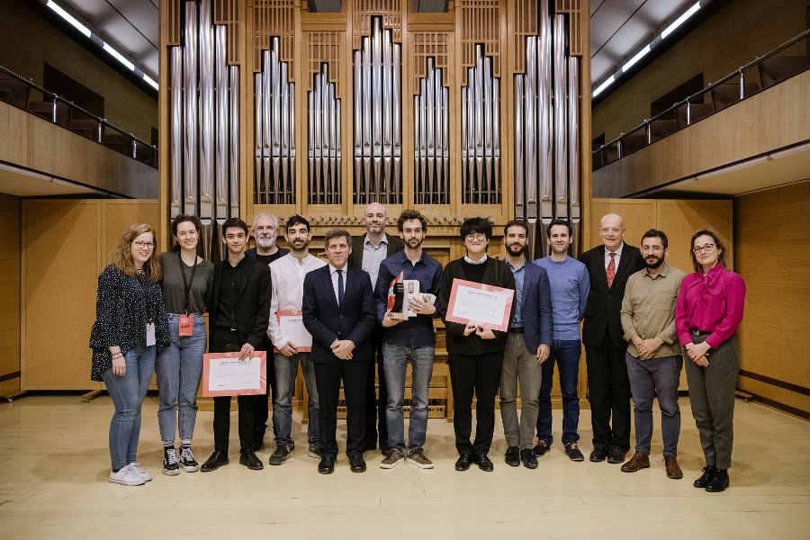 Galardonados Concurso Cuerda JM España
