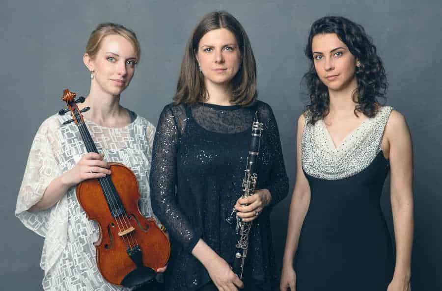 Iris Trio publica un disco con obras de Schumann