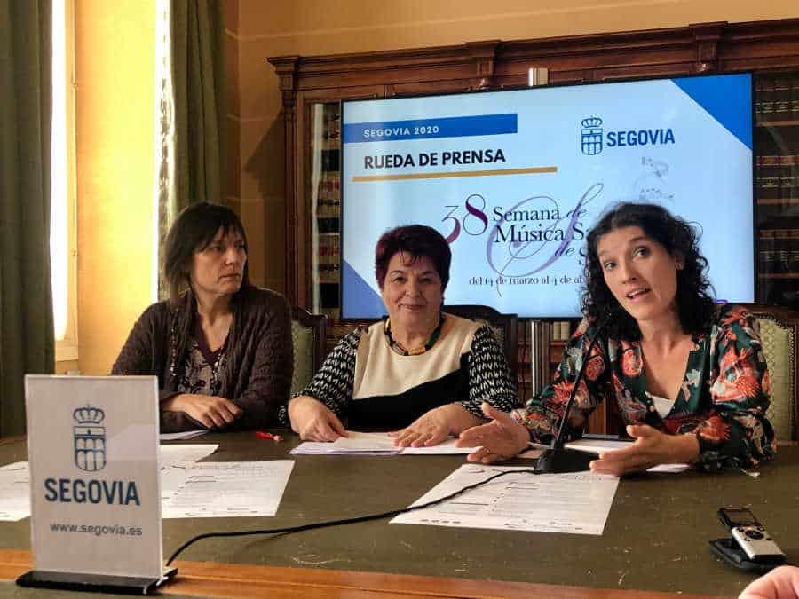 La Semana de Música Sacra de Segovia ofrece música coral y orquestal, danza y cortometrajes
