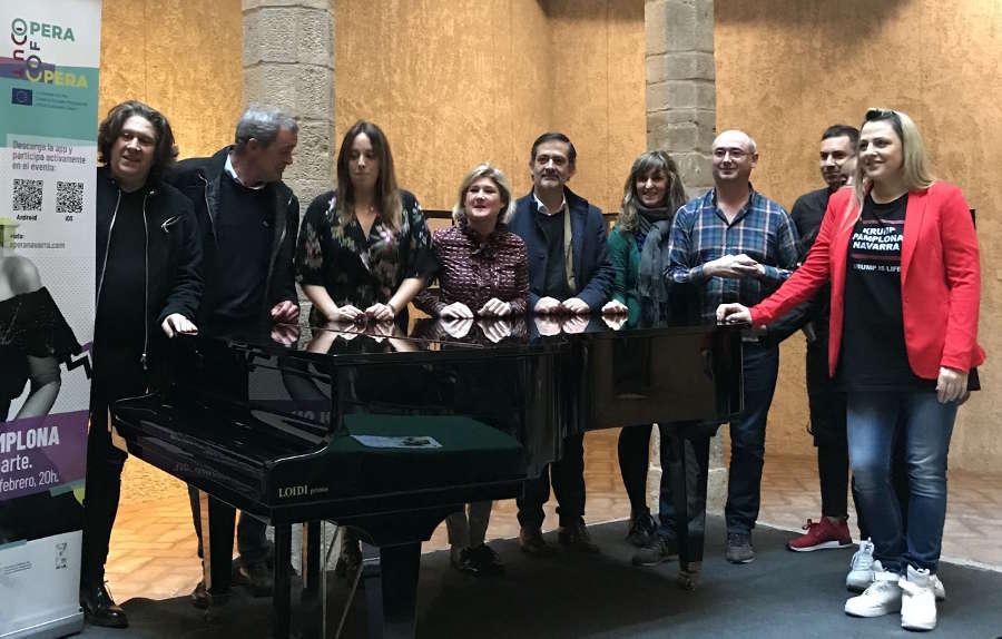 Ópera de Cámara de Navarra trae a Pamplona el evento Let's Opera, dentro del proyecto europeo Opera Out Of Opera