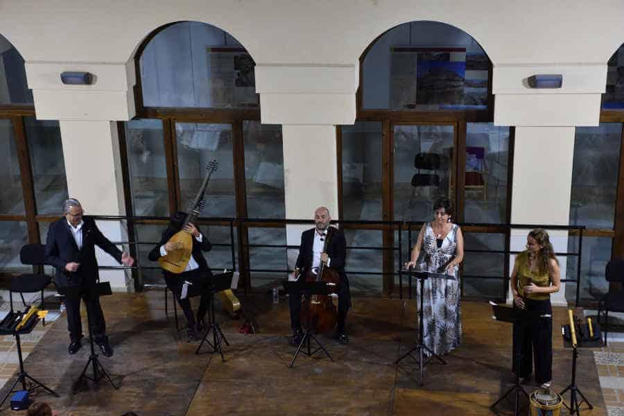 Estreno del programa «De aquél inmenso mar» el pasado julio en el XVIII Festival de Música Renacentista y Barroca de Vélez Blanco © Antonio Jiménez / XVIII FMRB Vélez Blanco