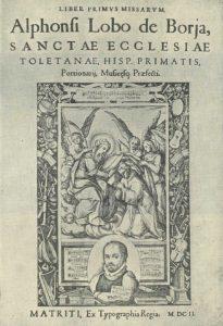 Portada Liber Primus Missarum