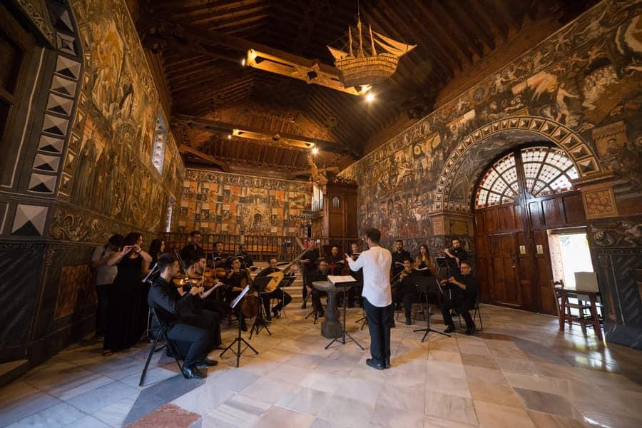 Ensemble ECOS de Sierra Espuña dirigido por Jorge Losana, interpretando música del maestro Romero © Early Music Project